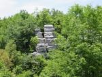 Het stenen woud bij de Vikos kloof, Griekenland
