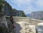 Bij het Oxya uitkijkpunt, Griekenland