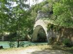 Klidonia brug bij Kleidonia, Griekenland