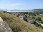 Uitzicht vanaf de Perama grotten op Ioannina, Griekenland
