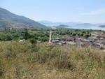 Uitzicht vanaf Perama op het Ionannina meer, Griekenland