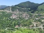 Het bergdorp Metsovo, Griekenland