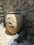 Kruik in het Nekromanteio Acheron, Griekenland