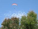 Paragliding bij Kathisma strand, Lefkada, Griekenland