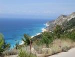 Kavalikefta strand, Lefkada, Griekenland