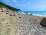 Het Kavalikefta strand, Lefkada, Griekenland