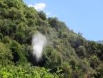 Bij de Nidri watervallen, Griekenland