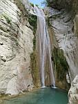 De grote Nidri waterval, Griekenland
