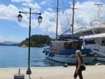 Haven van Nidri aan de oostkust van Lefkada, Griekenland