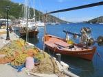 Haventje van Syvota, Lefkada, Griekenland