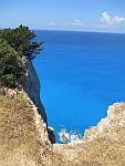 Kust bij de kaap van Lefkada, Griekenland