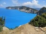Het schiereiland bij de kaap Doukato, Griekenland