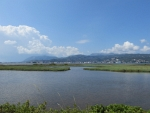 Lagune in het noorden van Lefkada, Griekenland