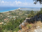 Het Agios Ioannis strand, Lefkada, Griekenland