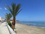 Het strand van Roda, Griekenland