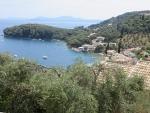 Baai van Kalami, Korfoe, Griekenland