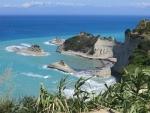 Uitzicht op Akra Drastis, Korfoe, Griekenland