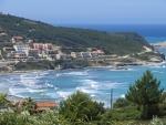 Agios Stefanos aan de westkust van Korfoe, Griekenland