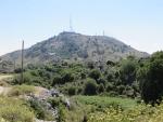 Naar de top van de Pantokrator, Korfoe, Griekenland
