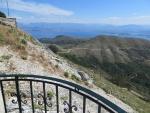 Uitzicht vanaf de Pantakrator, Korfoe, Griekenland