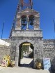 Klokkentoren op de Pantakrator, Korfoe, Griekenland