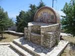 Bij het klooster op de Pantakrator, Griekenland