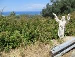 Jezus langs de weg, Korfoe, Griekenland