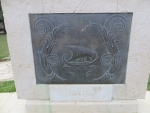 Symbool voor Korfoe, Kerkyra, Griekenland