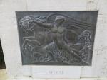 Symbool voor Lefkada, Kerkyra, Griekenland