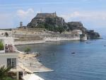 Het fort in Kerkyra, Griekenland