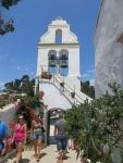 Klokkentoren van het Vlacherna klooster, Griekenland