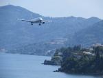 Weer vliegtuigen spotten, Korfoe, Griekenland