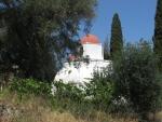 De Nymfes Estavromenos kerk, Griekenland