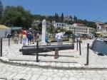 Kanonnen in Kassiopi, Griekenland
