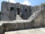 Muren van het Kassiopi kasteel, Griekenland