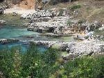 Het Kanoni strand, Griekenland