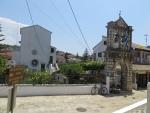 Kerk van Panayia Kassopitra, Kassiopi, Griekenland