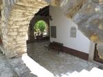 Het klooster van Theotokos Kassopitra, Kassiopi, Griekenland