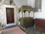 In het klooster van Theotokos Kassopitra, Griekenland
