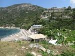 Hotelcomplex bij Ermones, Griekenland