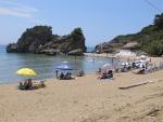 Het Peleka strand, Griekenland
