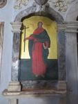 In de St. Jason en Sosipater kerk, Griekenland