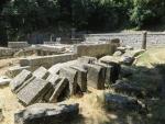 De Kardaki tempel in Paleopolis, Griekenland