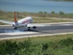 Er landt weer een vliegtuig, Kerkyra, Griekenland