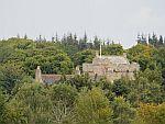 Cawdor kasteel vanuit de verte, Schotland