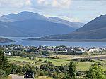 Uitzicht op Ullapool, Schotland