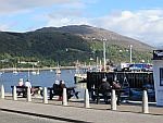 In de haven van Ullapool, Schotland