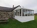 De serre van Salachran, ons huis op Mull, Schotland