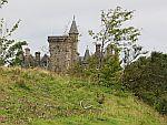 Glengorm kasteel op Mull, Schotland