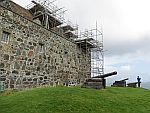 Kanonnen bij Duart kasteel, Mull, Schotland